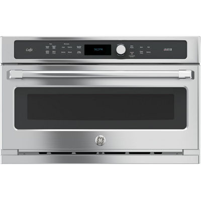 "GE Cafe™ Series 30"" Single Wall Oven with Advantium® Technology"
