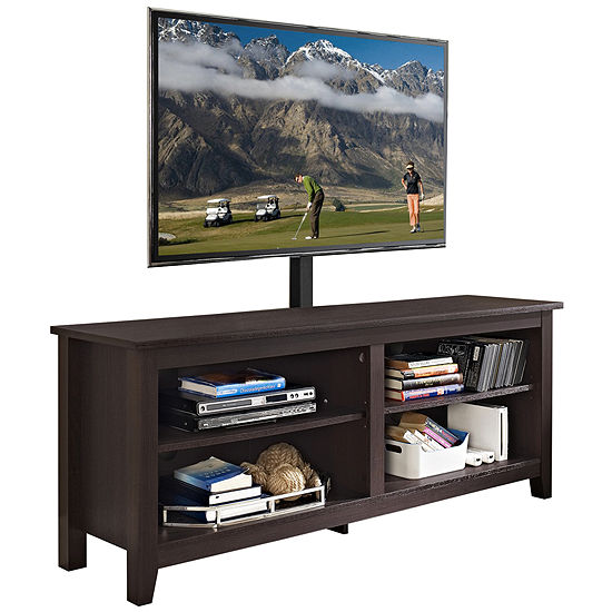 Beale 58 Wood Tv Stand With Tv Mount