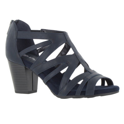 Easy Street Womens Amaze Heeled Sandals