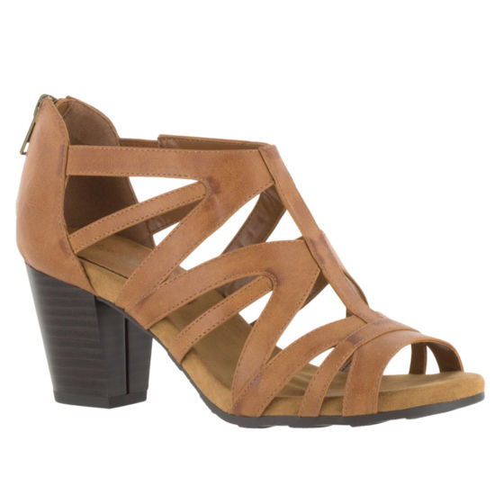 Easy Street Amaze Womens Heeled Sandals