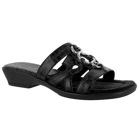 Easy Street Torrid Slide Sandals Uu77GxM