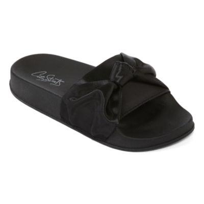 City Streets Whitney Girls Slide Sandals - Little Kids/Big Kids