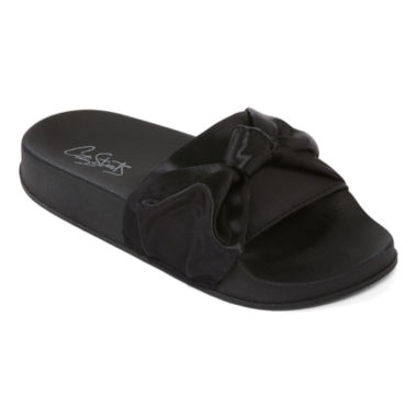 City Streets Whitney Girls Slide Sandals - Little Kids/Big Kids
