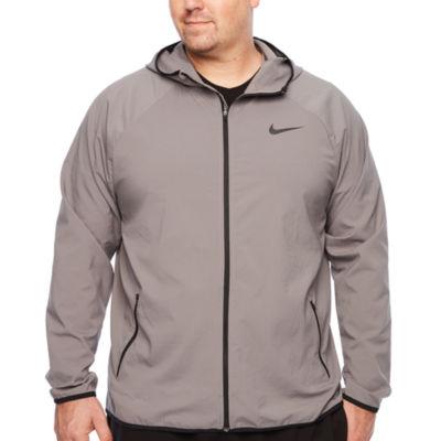 Nike Mens Long Sleeve Moisture Wicking Hoodie-Big and Tall