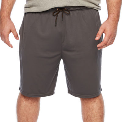 Copper Fit Mens Drawstring Waist Elastic Waist Workout Shorts - Big and Tall