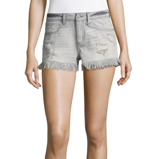 "Rewash 2 1/2"" Denim Shorts-Juniors"