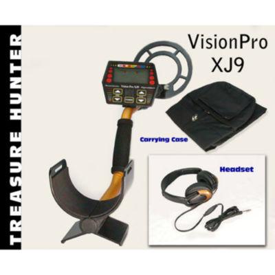 Treasure Hunter XJ9 Vision Pro Metal Detector