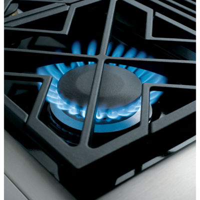 "GE Cafe´™ Series 48"" Professional Gas Rangetop with 6 Burners and Griddle (Natural Gas)"