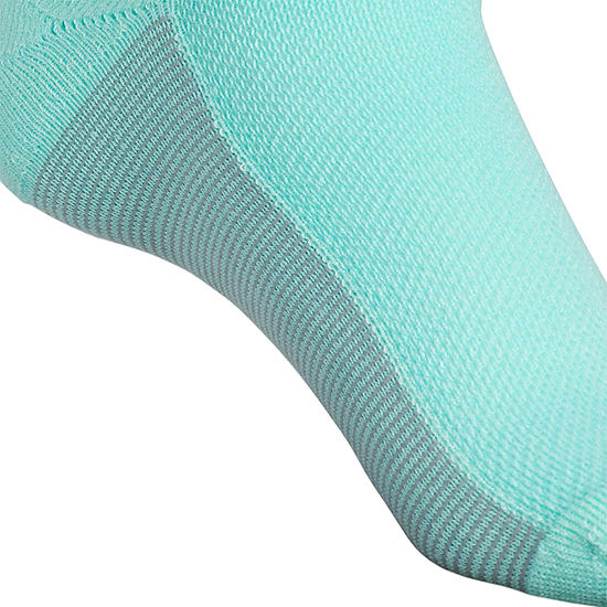 adidas 3 Pk Superlite 1 Pair No Show Socks - Womens