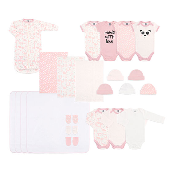 The Peanut Shell 6-pc. Baby Gift Set-Baby Girls