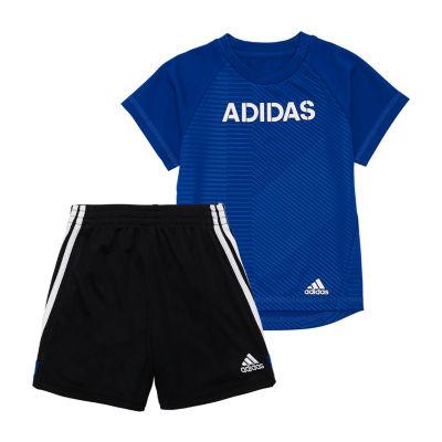adidas 2-pc. Short Set Toddler Boys