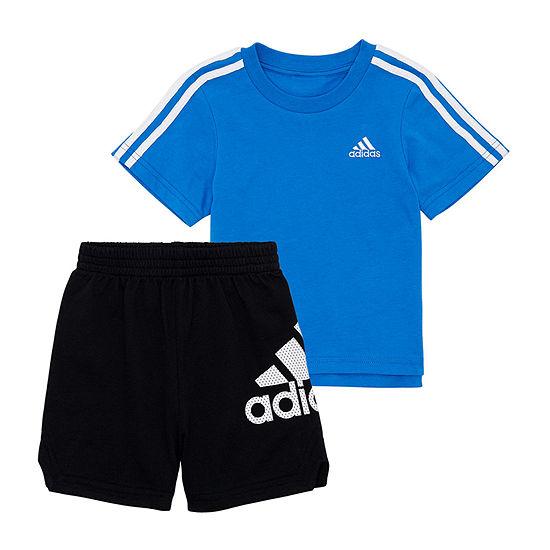 adidas Boys 2-pc. Short Set Toddler