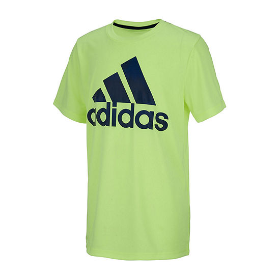 Adidas Boys Round Neck Short Sleeve Graphic T Shirt Toddler