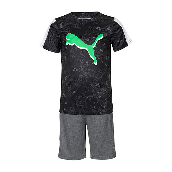 Puma 2-pc. Short Set Boys
