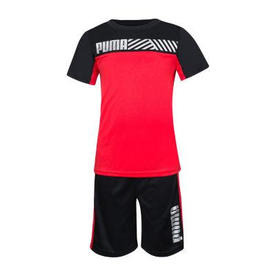Puma 2-pc. Short Set Boys
