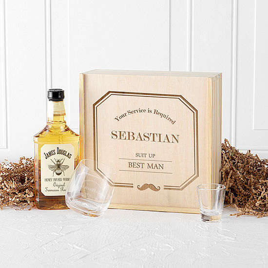 Cathy's Concepts 'Suit Up' Best Man Personalized Gift Box Set