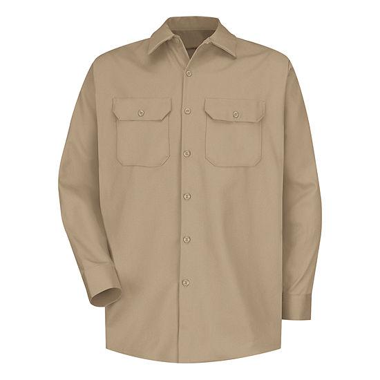 Red Kap® SC70 Deluxe Heavyweight Cotton Shirt–Big & Tall
