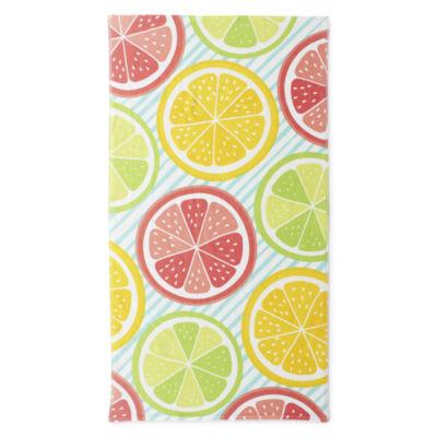 Outdoor Oasis Citrus Fruit Beach Towel