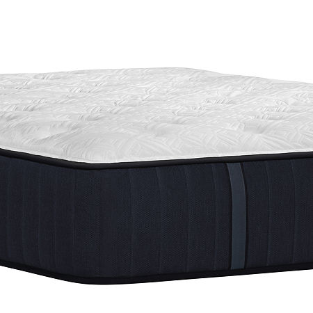 Stearns and Foster Hurston Cushion Firm Tight Top - Mattress Only, Split Cal King, White