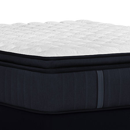 Stearns and Foster Hurston Firm EPT - Mattress + Box Spring, Split Cal King, White