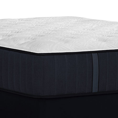 Stearns and Foster Rockwell Luxury Plush EPT - Mattress + Box Spring, Split Cal King, White