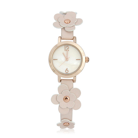 Mixit Womens Strap Watch-Pt6549rgbh