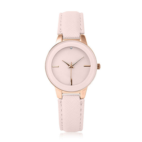 Mixit Womens Strap Watch-Pt3124rgbh