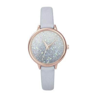 Mixit Womens Strap Watch-Pt6507frgbl