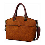 St. John's Bay Antique Grain Satchel