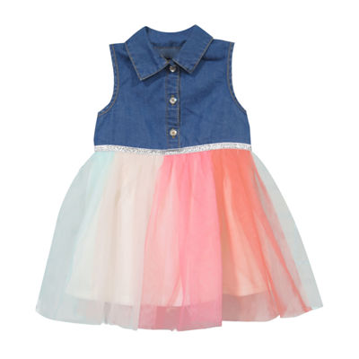 Lilt Sleeveless A-Line Dress - Baby Girls
