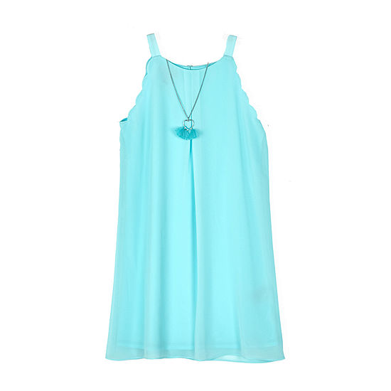 by&by girl Girls Sleeveless A-Line Dress - Big Kid