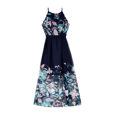 by&by girl Sleeveless Floral Maxi Dress - Big Kid Girls