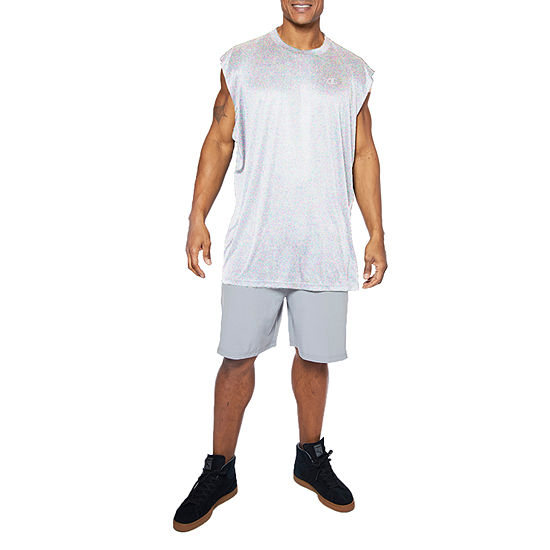 Champion Mens Crew Neck Sleeveless Muscle T-Shirt Big and Tall