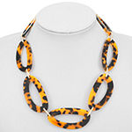 Worthington Resin 17 Inch Cable Collar Necklace