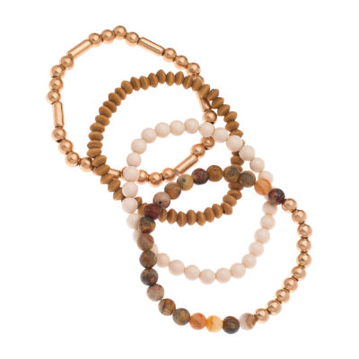 a.n.a. Beaded 4-pc. Stretch Bracelet