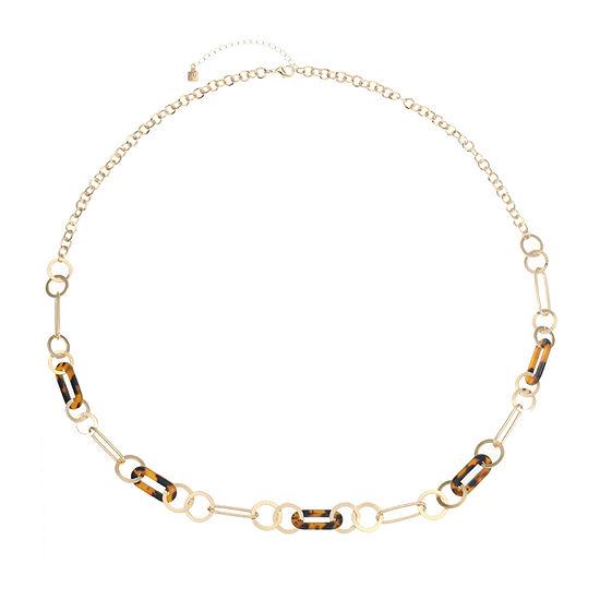 Worthington 36 Inch Link Strand Necklace