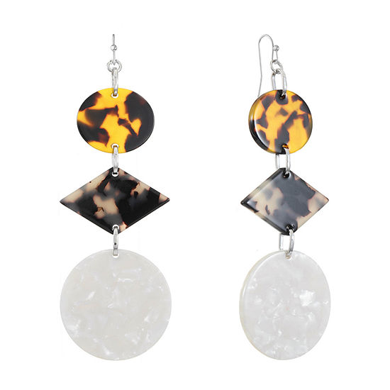 Worthington Resin Drop Earrings
