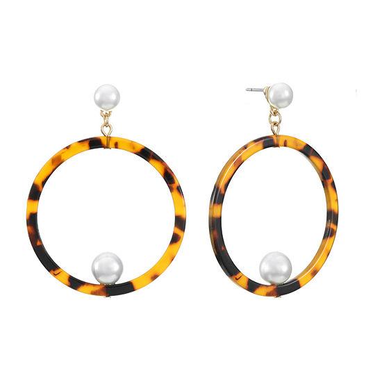 Worthington Resin Drop Earrings