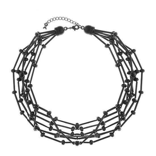 Mixit 18 Inch Bead Collar Necklace