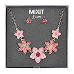 Mixit 2-pc. Flower Jewelry Set