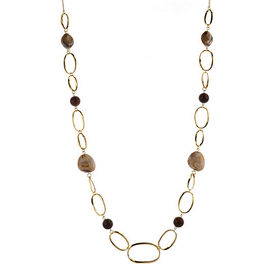 Mixit 38 Inch Link Strand Necklace