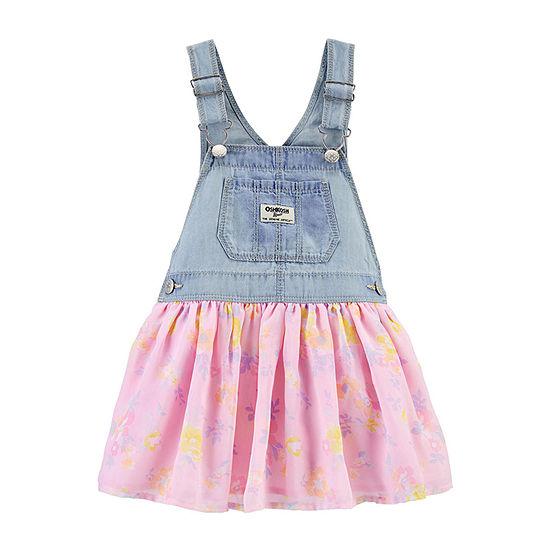 Oshkosh - Toddler Girls Sleeveless Jumper