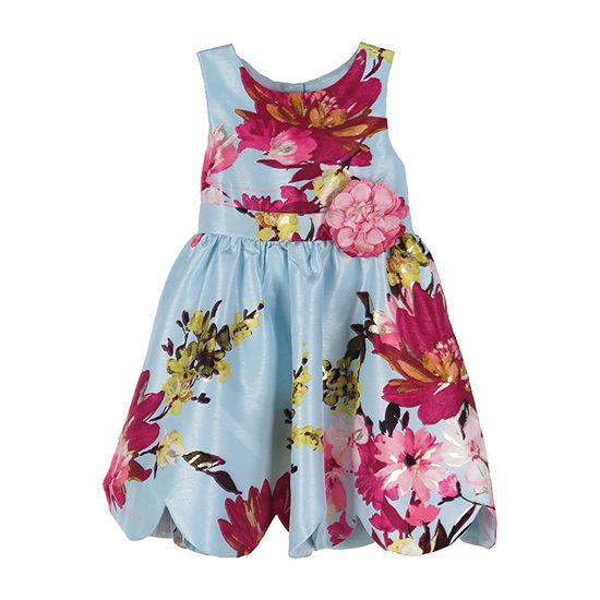 Lilt - Toddler Girls Sleeveless Party Dress