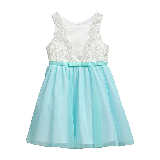 Youngland Toddler Girls Sleeveless Skater Dress