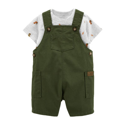 Carter's Baby Boys 2-pc. Shortall Set