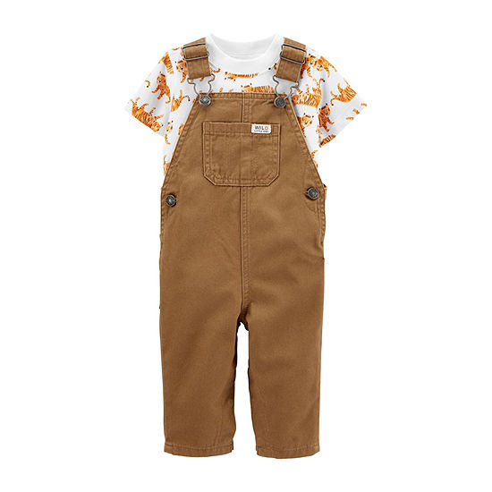 Carter's-Baby Boys 2-pc. Overall Set