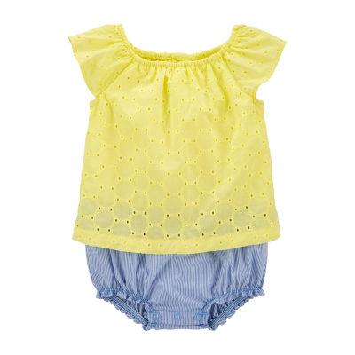 Carter's Baby Girls Short Sleeve Romper