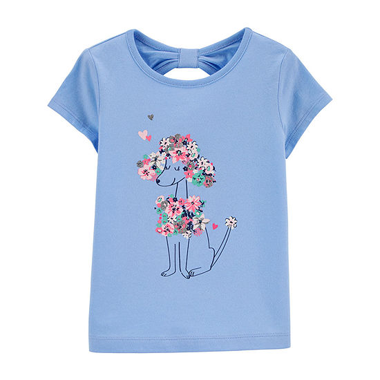 Carter's-Toddler Girls Short Sleeve T-Shirt