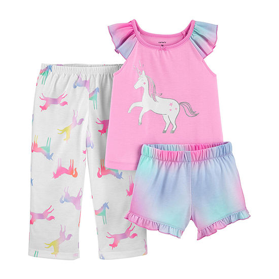 Carter's Girls 3-pc. Pajama Set Toddler