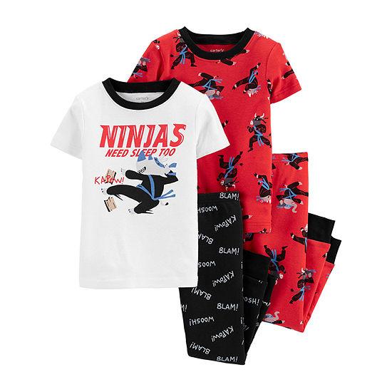 Carter's Toddler Boys 4-pc. Pajama Set